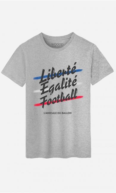 T-Shirt Liberté Egalité Football