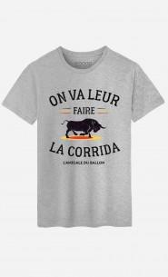 T-Shirt Homme On Va Leur Faire La Corrida
