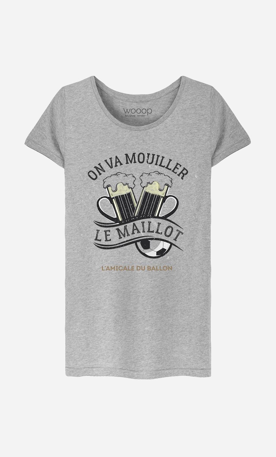 T-Shirt Femme On Va Mouiller le Maillot
