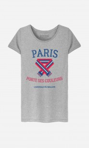 T-Shirt Paris Porte ses Couleurs