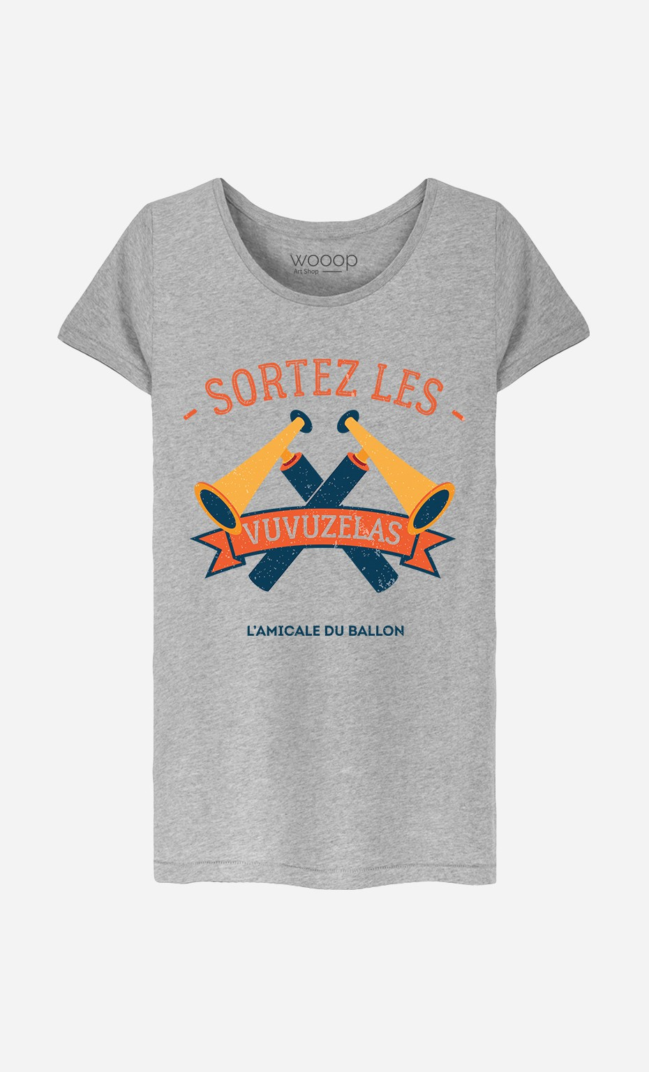 T-Shirt Sortez Les Vuvuzelas