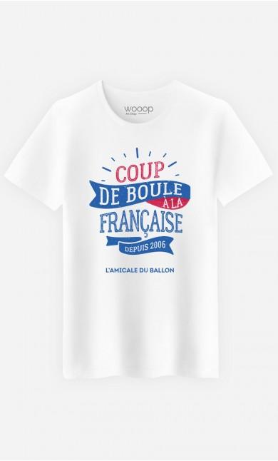T-Shirt Homme Coup de Boule à la Française