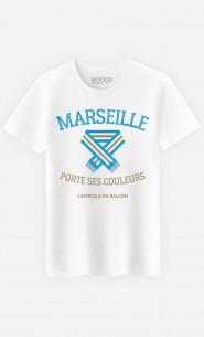 T-Shirt Homme Marseille Porte ses Couleurs