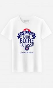 T-Shirt Homme On Va Leur Faire Boire la Tasse