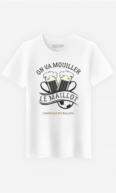 T-Shirt Homme On Va Mouiller le Maillot
