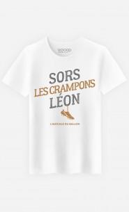 T-Shirt Homme Sors Les Crampons Léon