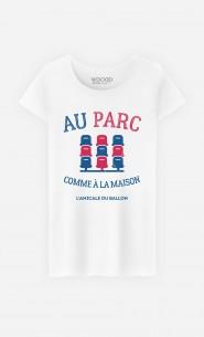T-Shirt Femme Au Parc Comme à la Maison