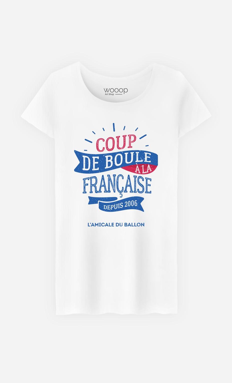 T-Shirt Femme Coup de Boule à la Française