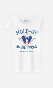 T-Shirt Femme Hold-Up au Vélodrome