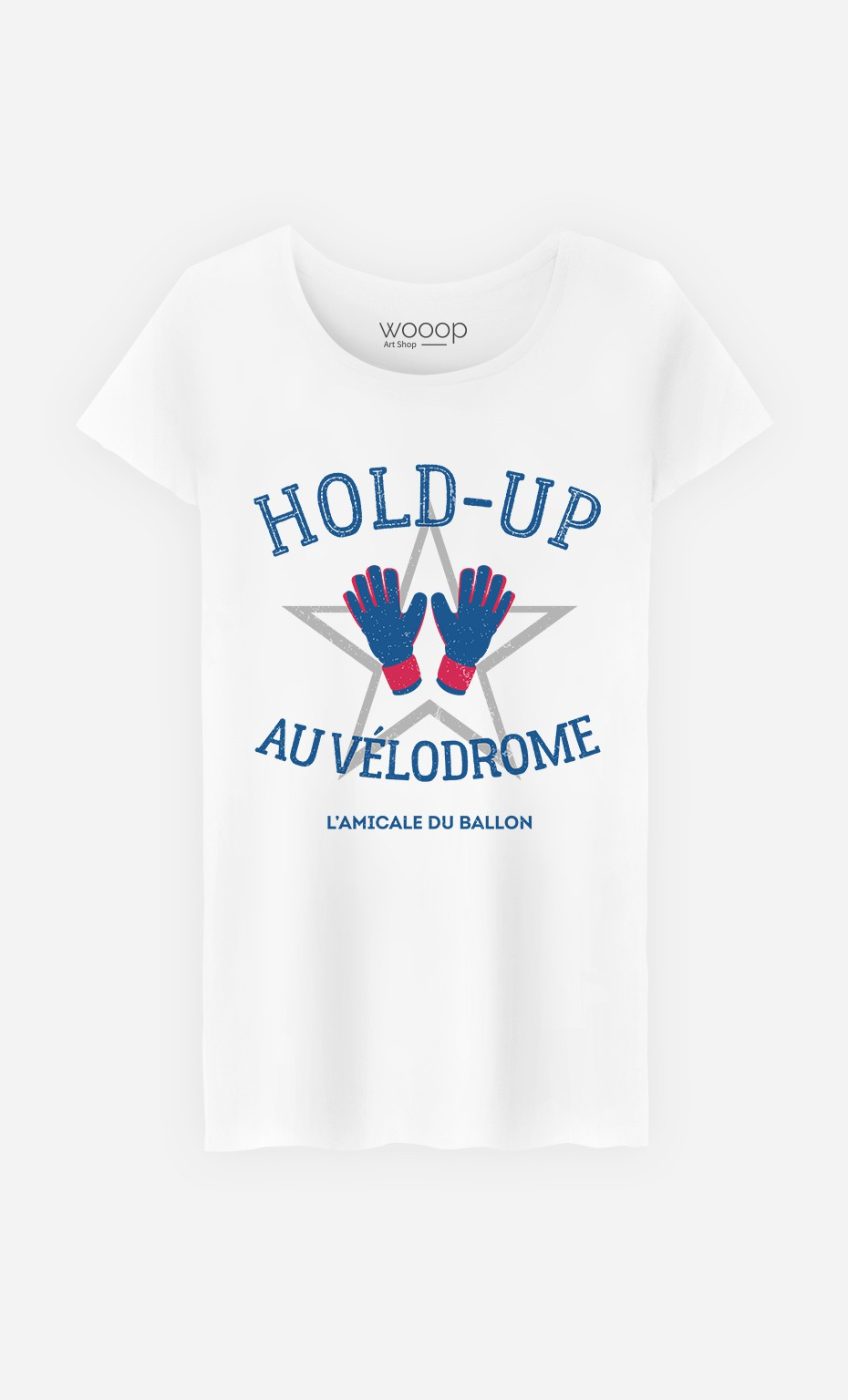 T-Shirt Femme Hold-Up au Vélodrome