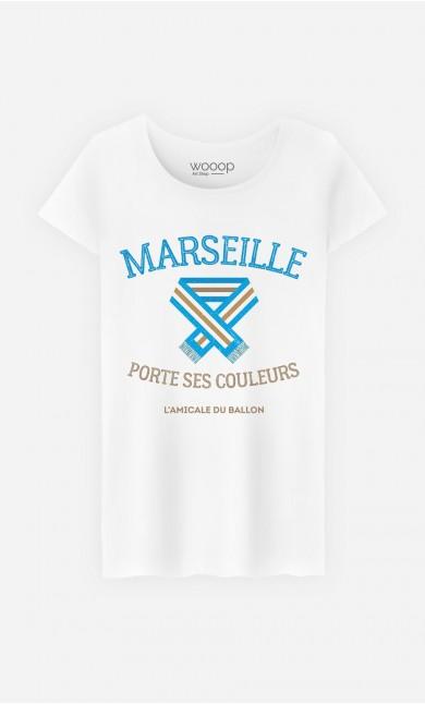 T-Shirt Marseille Porte ses Couleurs