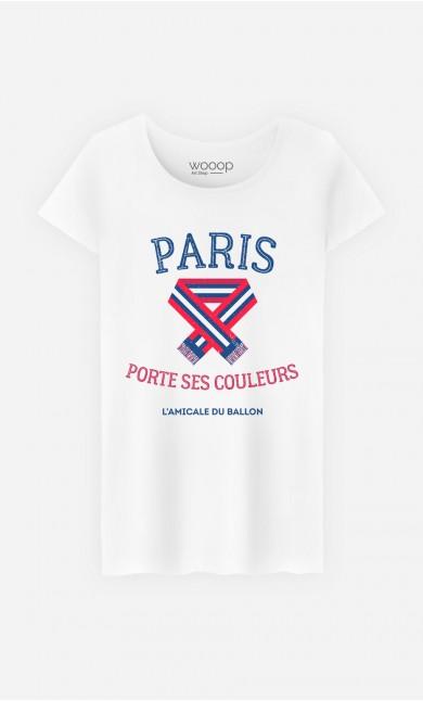T-Shirt Paris Porte ses Couleurs