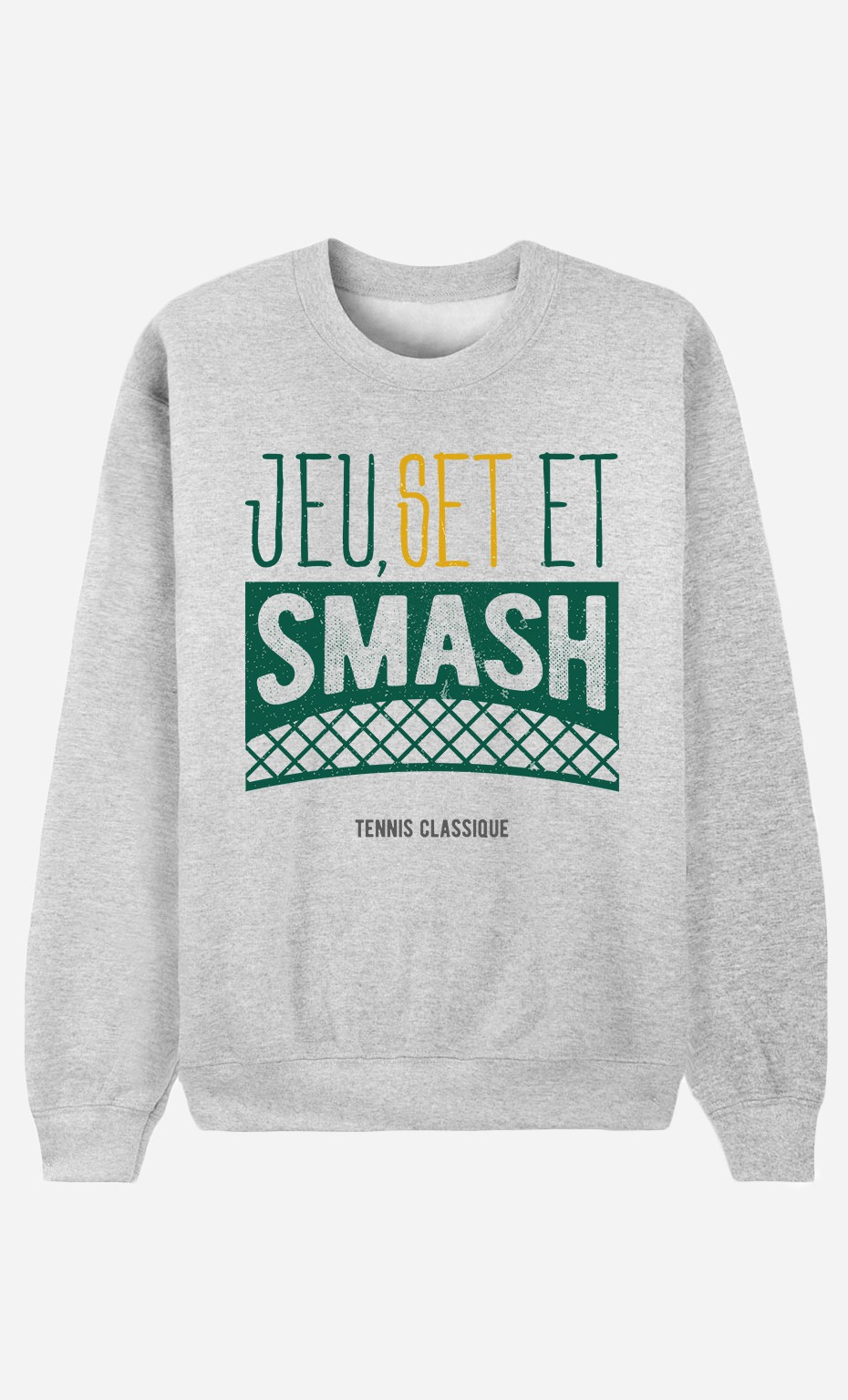 Sweat Femme Jeu Set et Smash