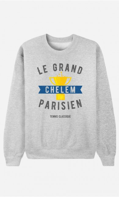 Sweat Femme Le Grand Chelem Parisien