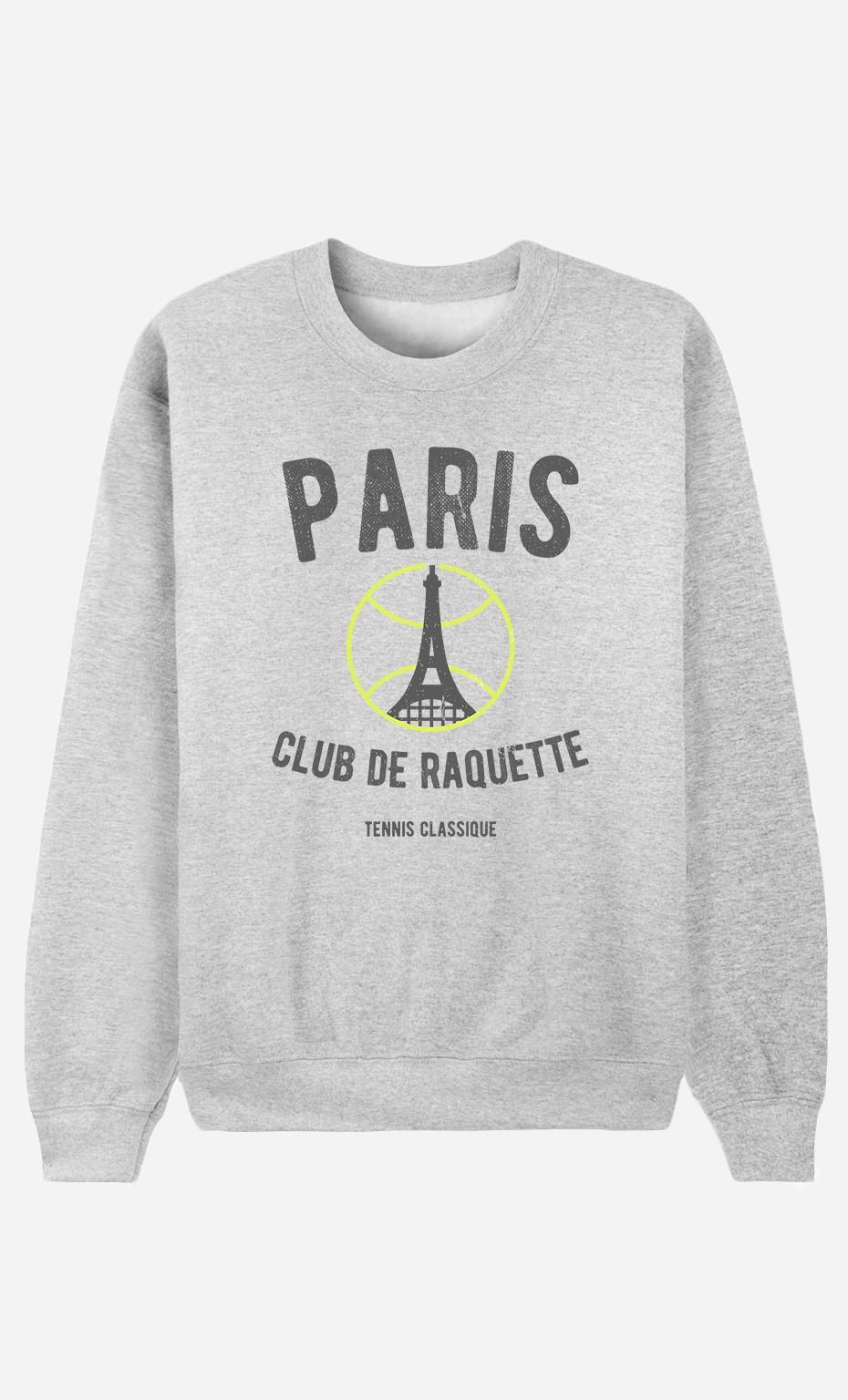Sweat Femme Paris Club de Raquette