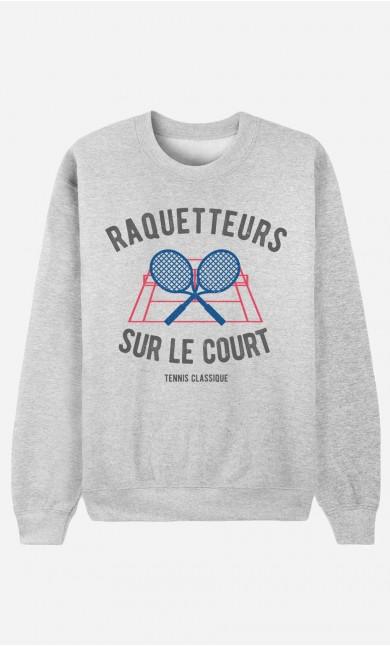 Sweat Femme Raquetteurs sur Le Court