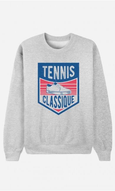 Sweat Femme Tennis Classique