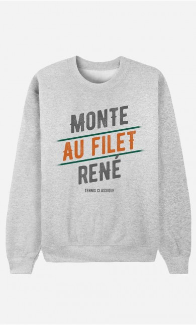 Sweat Homme Monte au Filet René
