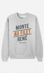 Sweat Homme Monte au Filet René