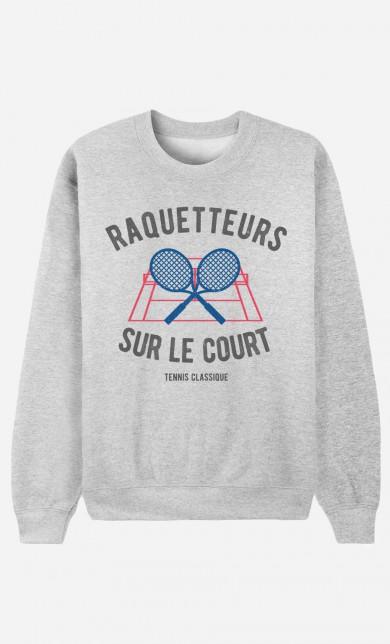Sweater Raquetteurs sur Le Court