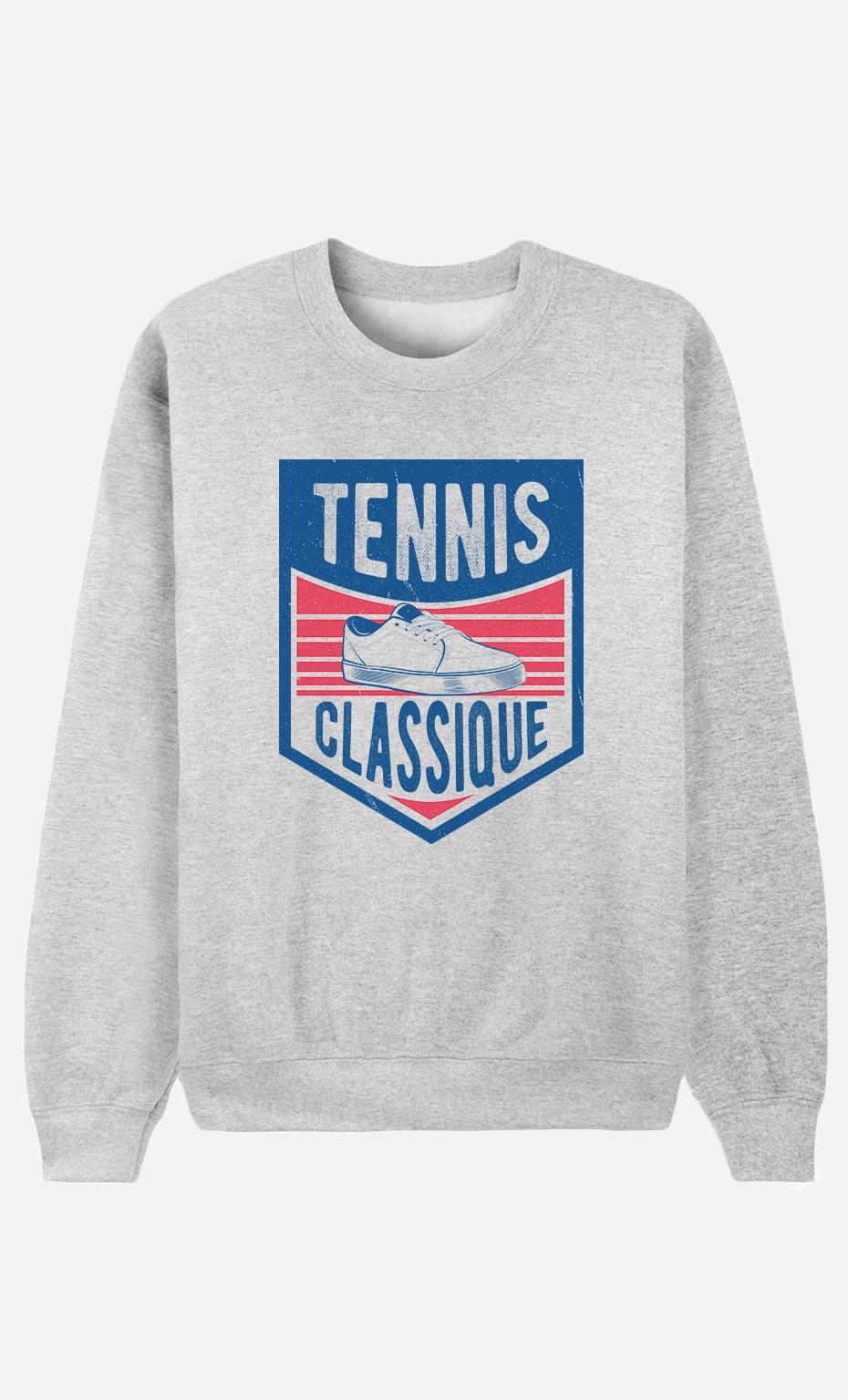 Sweat Homme Tennis Classique