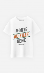 T-Shirt Enfant Monte au Filet René