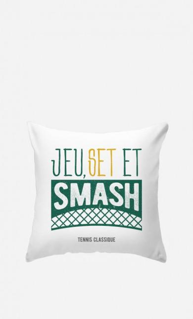 Coussin Jeu Set et Smash