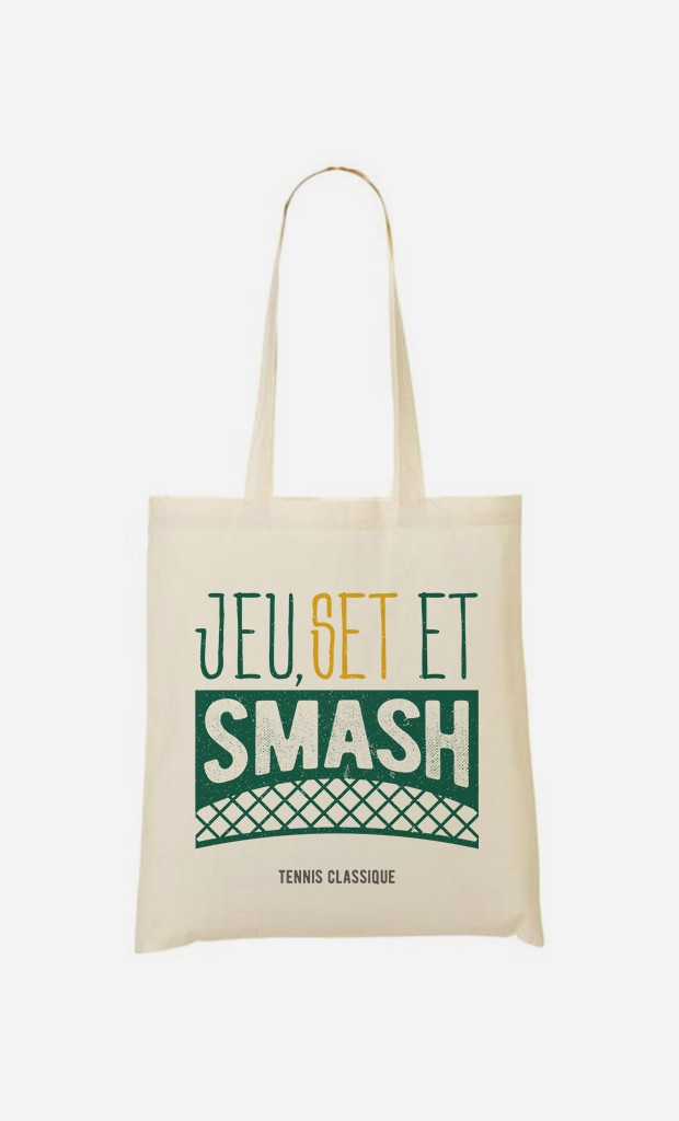 Tote Bag Jeu Set et Smash