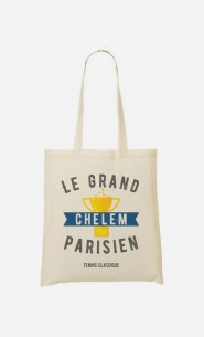 Tote Bag Le Grand Chelem Parisien