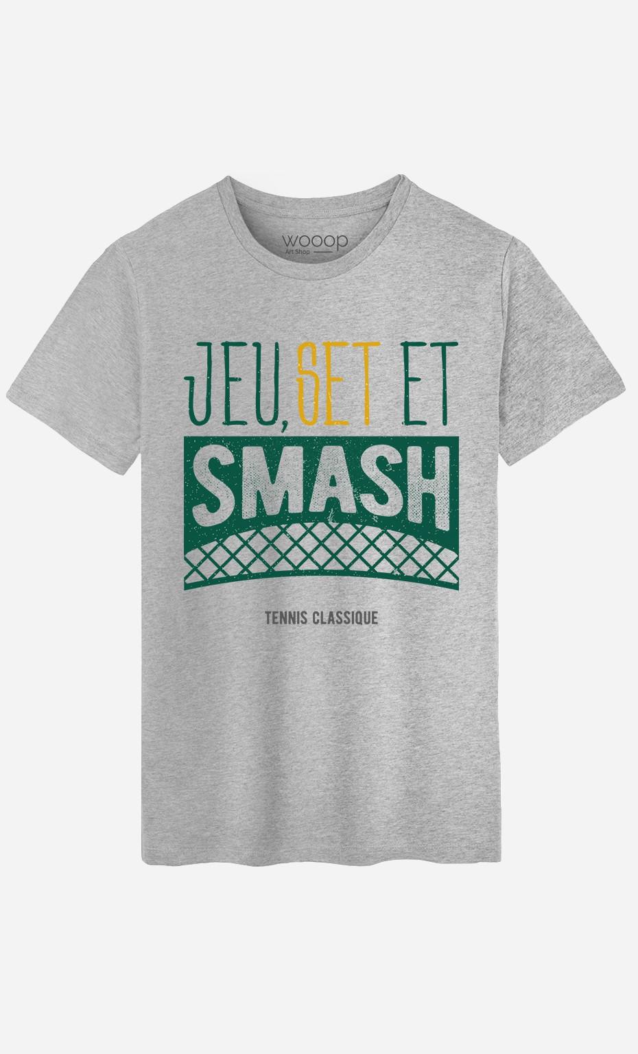 T-Shirt Jeu Set et Smash