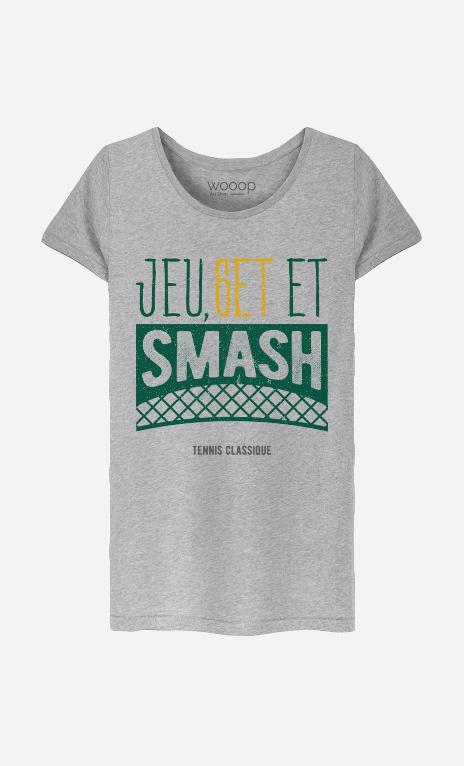 T-Shirt Jeu Set et Smash