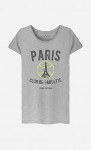 T-Shirt Femme Paris Club de Raquette