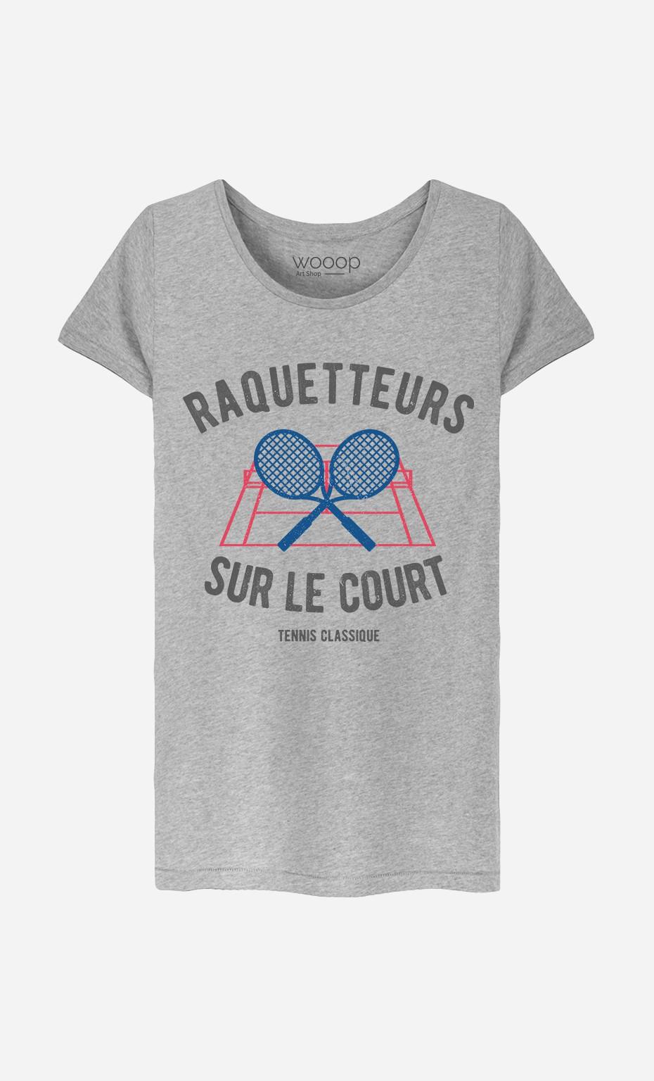 T-Shirt Raquetteurs sur Le Court