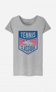 T-Shirt Femme Tennis Classique