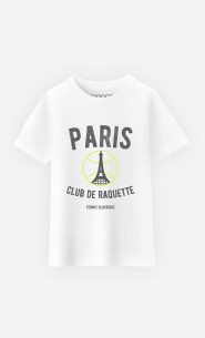 T-Shirt Enfant Paris Club de Raquette