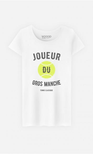 T-Shirt Femme Joueur du Gros Manche