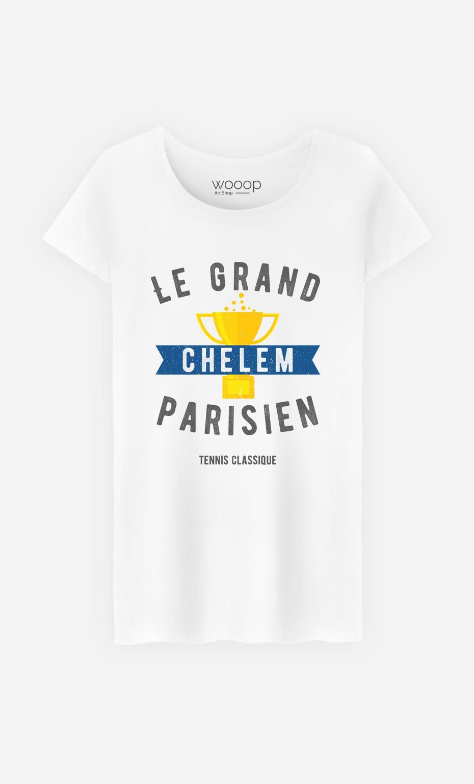 T-Shirt Femme Le Grand Chelem Parisien