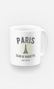Mug Paris Club de Raquette