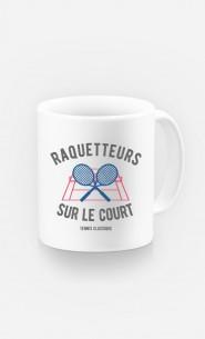 Mug Raquetteurs sur Le Court