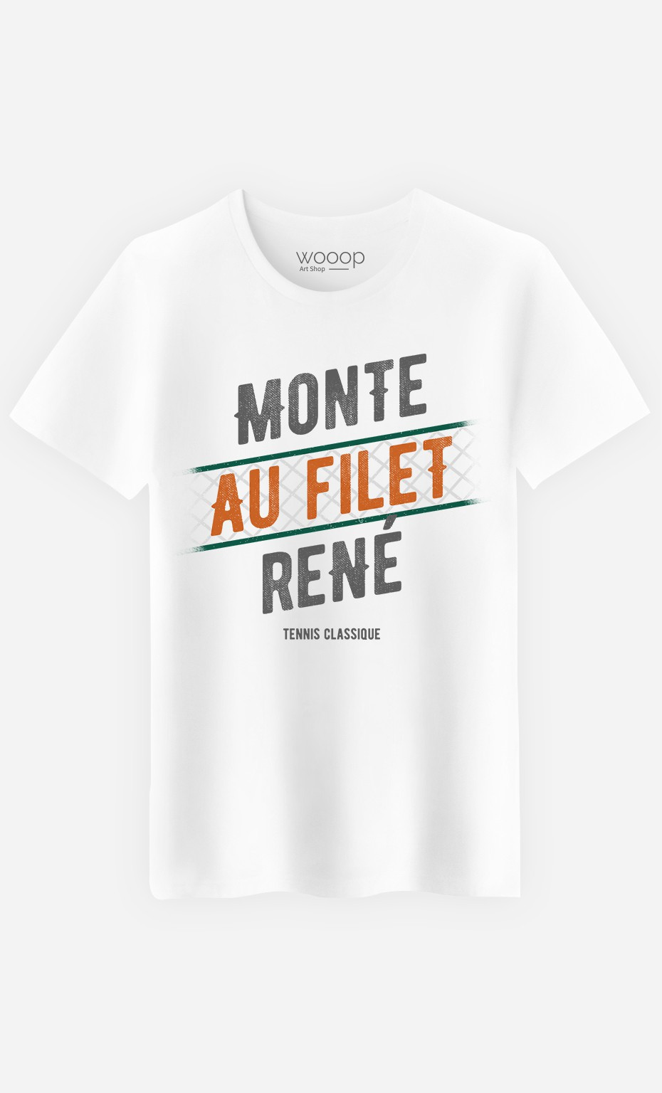 T-Shirt Homme Monte au Filet René