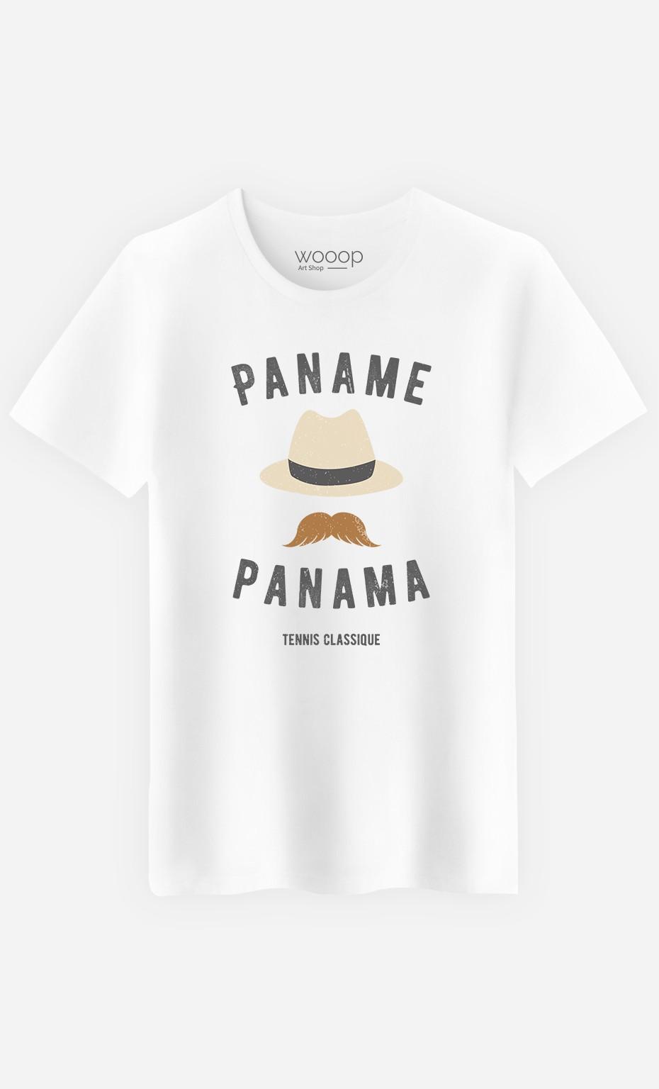 T-Shirt Homme Paname Panama