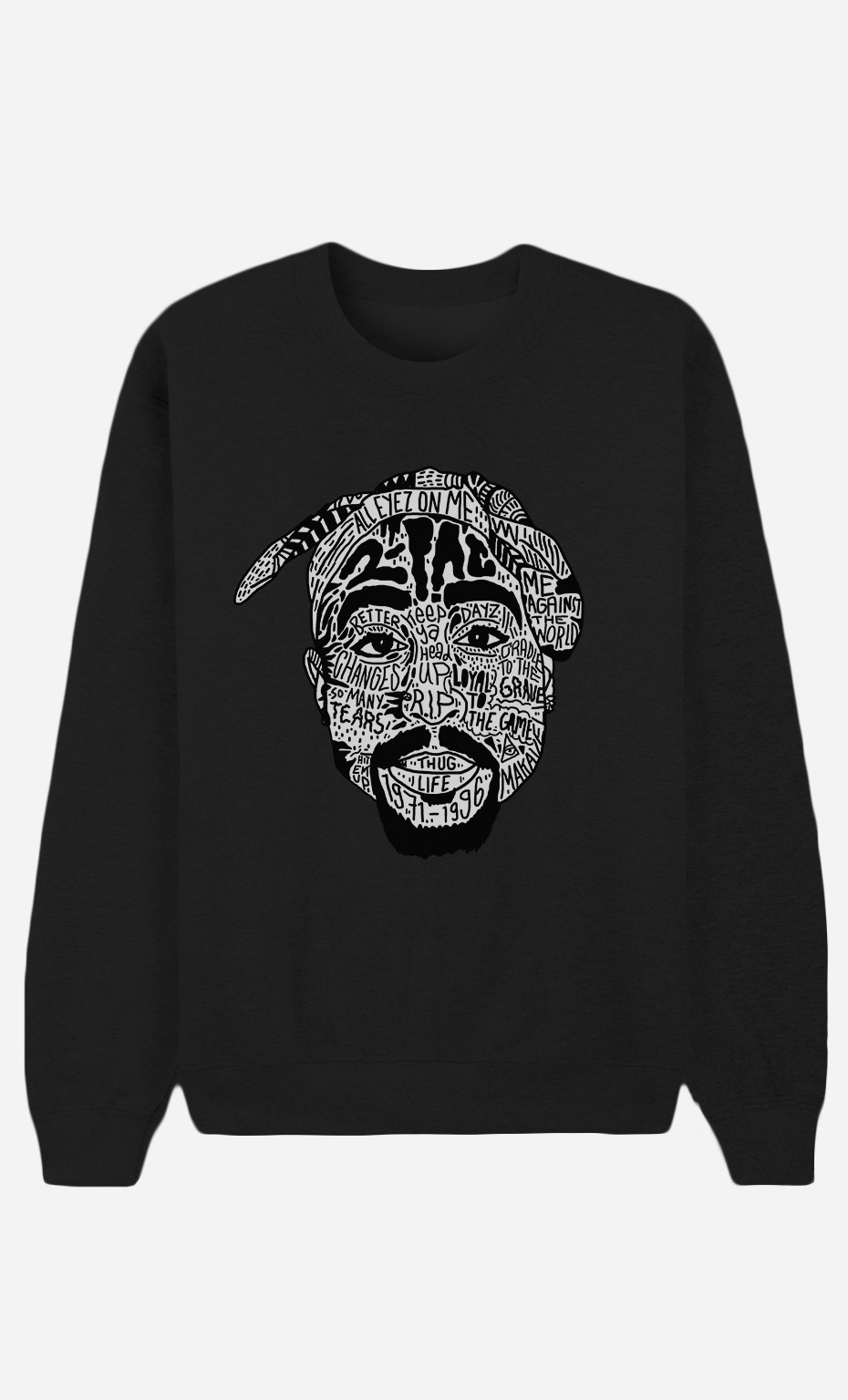 Sweat Noir Tupac Shakur