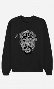 Sweat Femme Tupac Shakur