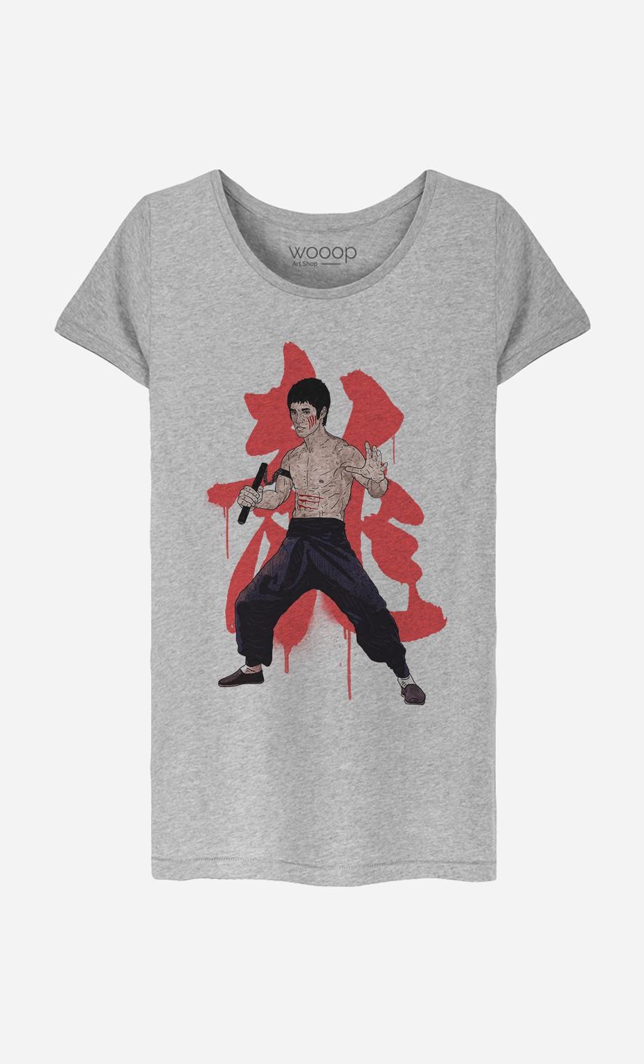 T-Shirt Femme Bruce Lee