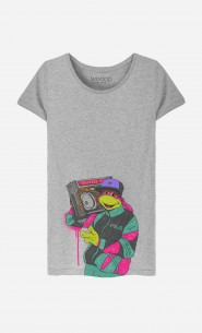 T-Shirt Femme Vintage Turtle