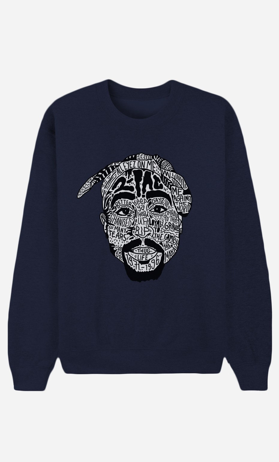 Sweat Bleu Tupac Shakur