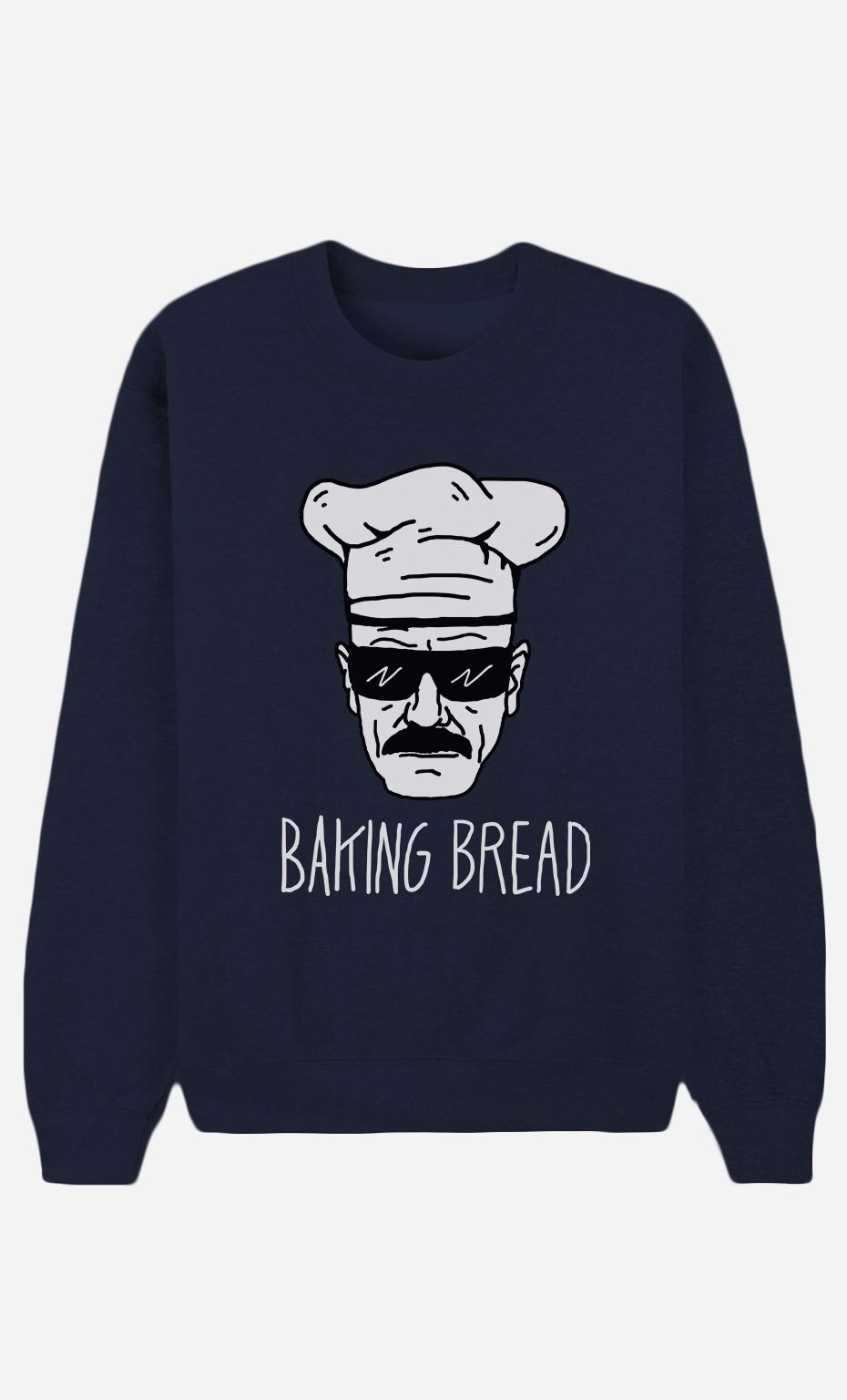 Sweat Bleu Baking Bread