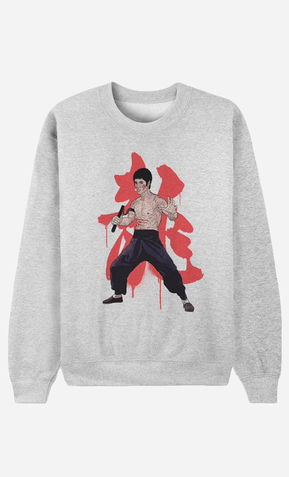 Sweat Femme Bruce Lee