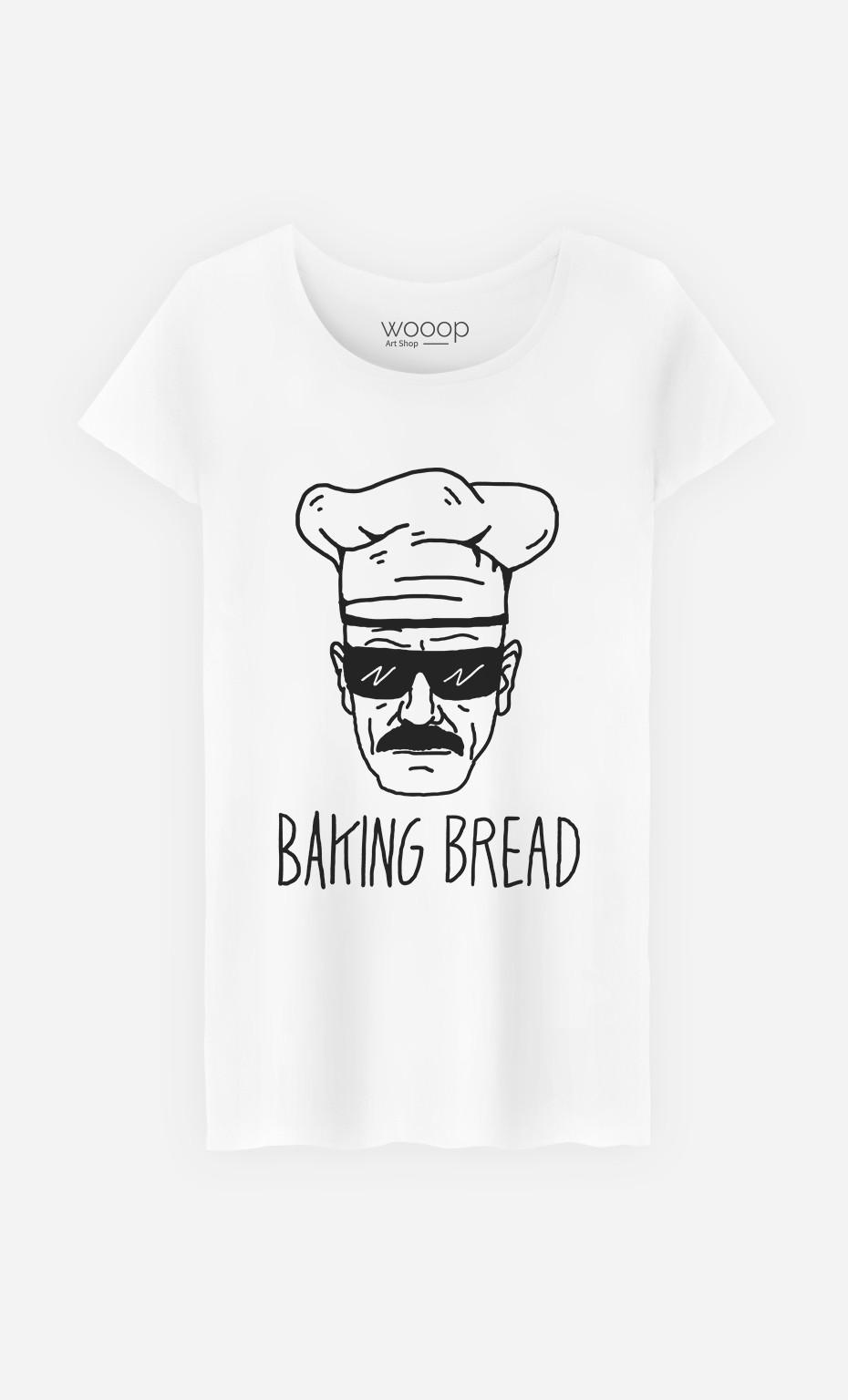 T-Shirt Femme Baking Bread