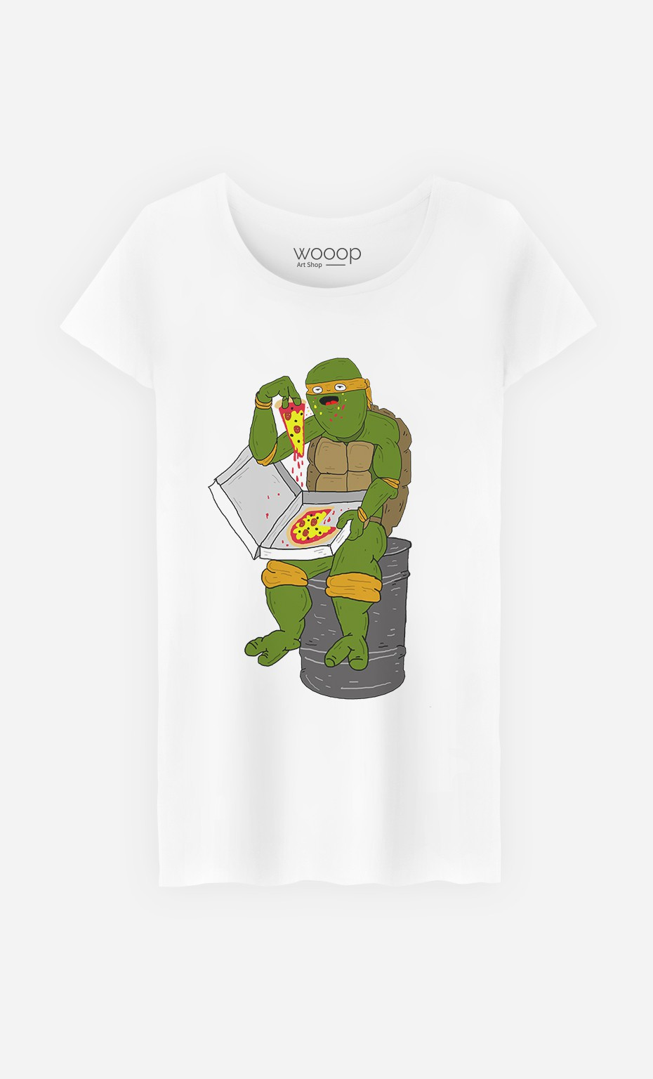 T-Shirt Pizza Turtle